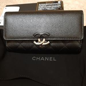 Chanel med size flap wallet limited edition